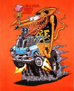 Rat Fink Cartoon