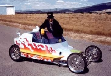 stealth custom car