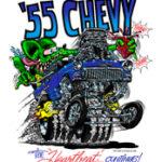 55 Chevy T-Shirt (White)