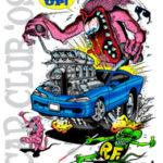 2009 Rat Fink's Car Club T-Shirt