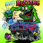 Mighty Mustang 22x28