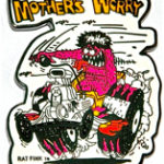 Mothers Worry pin