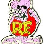 Pink Rat Fink pin