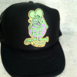 Purple Rat Fink Trucker Hat