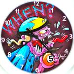 Rat Fink Clock-When