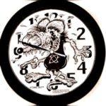 Atomic Rat Clock
