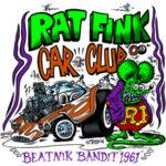 2008 Rat Fink's Car Club T-Shirt