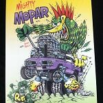 Mighty Mopar Aluminum Sign12x18