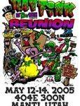 3rd Annual Rat Fink Reunion poster 11x17