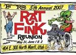 5th Annual Rat Fink Reunion poster 11x17