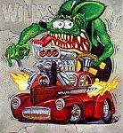 Rat Fink Willys mini poster #6 6.5x8.25