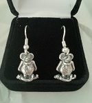 Dangle Earrings Rat Fink