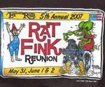 5th Annual Rat Fink Reunion 2007 Kids T-Shirt