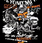 Rat Fink Zippered Hoodie Collage- Beyond Nuts/Skate Board
