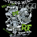 Rat Fink Collage - Mother's Worry/ Cars T-Shirt