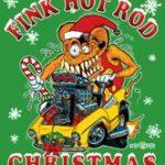 Fink Hot Rod Christmas Back Design T-Shirt