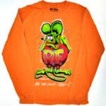 Rat Fink Long Sleeve (Orange)