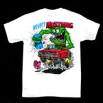 Mighty Mustang T-Shirt (White)