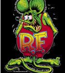 Full Color Signature Black Rat Fink Work Shirt
