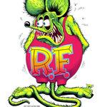 Rat Fink Full Color on Back T-Shirt