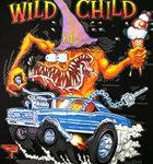 Wild Child - Black T-Shirt