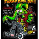 Fords Kick Butt T-Shirt (Black)