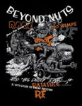 Collage Beyond Nuts Skateboard Kid's T-Shirt