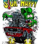 Sick But Happy Kid's T-Shirt (White)