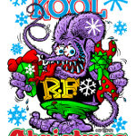 Have a Kool Christmas Back Design T-Shirt
