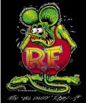 Rat Fink Full Color Kid's T-Shirt