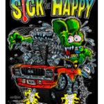 Sick But Happy T-Shirt (Black)