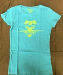 Youth Flying Eyeball Blue Fitted Kid's T-Shirt