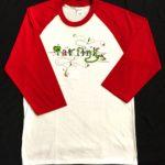 Rat Fink Baseball Trim Shirt (Red)