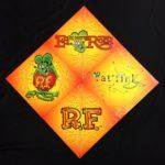Orange Rat Fink Metal Signs<br>(Set of 4)