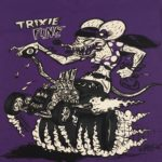 Purple Trixie Fink V Neck