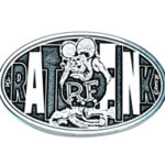 Rat Fink Belt Buckle-Oval