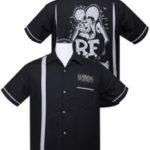 Bowling Shirt Rat Fink Buttons