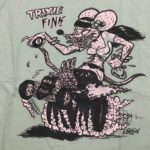 Youth Mint Trixie Fink Fitted T-Shirt