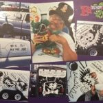 Ed Roth Collage 12x18 Metal Sign