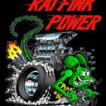 Rat Fink Power Black T-Shirt