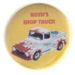 106 Ed Roth Shop Truck Button (2.25