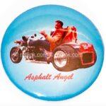 121 Asphalt Angel Button (2.25