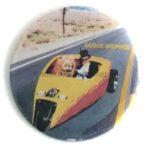 107 Ed Roth's Globe Hopper Button (2.25