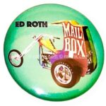 124 Ed Roth's Mail Box Button (2.25