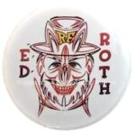 1 Ed Roth Pinstripe Button (2.25