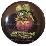 3 RF Original #56 Black Button (2.25
