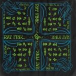 Rat Fink Bandana Nuts and Bolts Black / Green / Blue