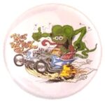 13 Tales of the Rat Fink Outlaw Button (2.25
