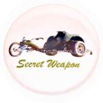 126 Secret Weapon Button (2.25