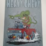 Heavy Chevy 12x18 Metal Sign